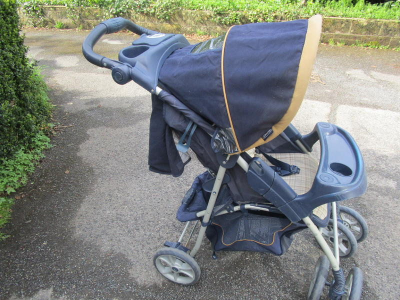 Graco Baby Child Travel System Pram Carrier Car Seat Pushchair