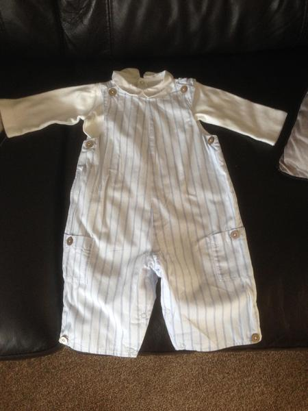 Baby boys bundle of clothes Newborn & 0 3 months East