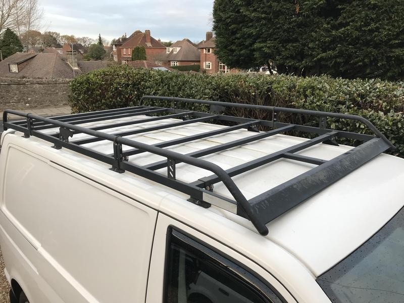 swb rhino roof custom transit high for itm aluminium van system sentinel rack ford
