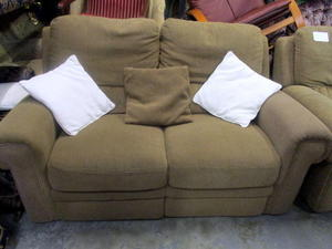 Reclining sofa £95 in Cowes