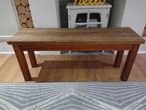 Solid Oak Drop Leaf Table in Brading Expired Wightbay
