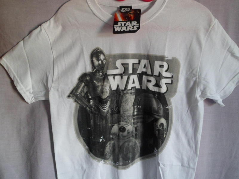 New with tags mens vintage look star wars t shirt size 36 for Vintage star wars t shirts men