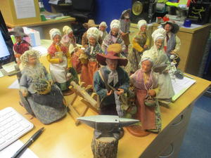 Group of French Provencal Santon Figurines £5 each or £70 the lot in Cowes