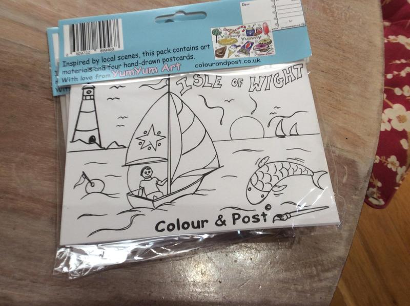 Kids IOW Colouring Packs - Newport - Sold | Wightbay