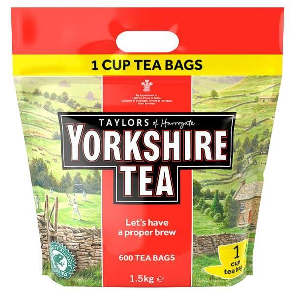 taylors of harrogate yorkshire tea bags 600 bags cowes expired wightbay. Black Bedroom Furniture Sets. Home Design Ideas