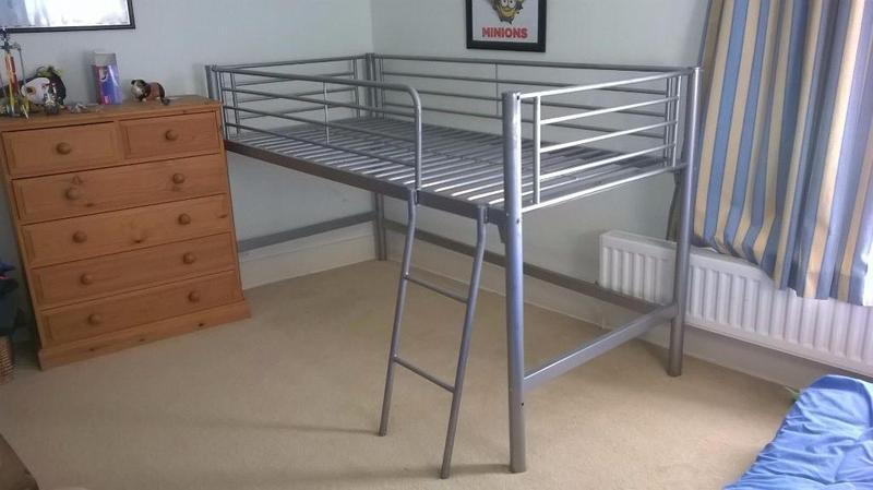 MID SLEEPER METAL FRAME SINGLE CABIN BED CAN DELIVER In Newport
