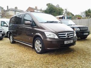 *NOW SOLD*  Mercedes-Benz Vito 2.1CDi ( EU5 ) 116 - Compact Auto Dualiner 116CDI in Ventnor