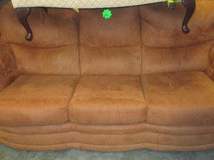 3 Seater Sofa & Armchair £95 in Cowes