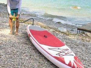 12ft6 inflatable paddleboard in Bembridge