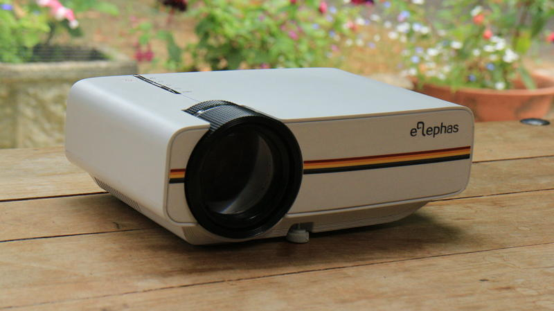 Image result for Elephas 1200 lumens LED mini portable projector