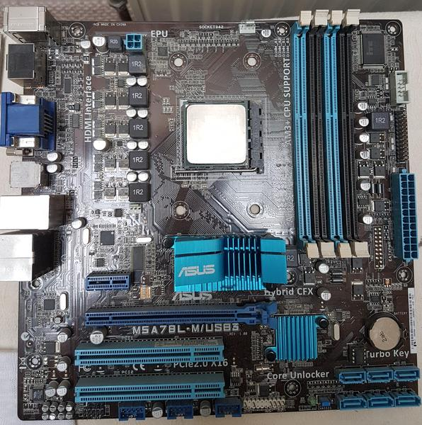 Asus M5A78L-M/USB3 motherboard and FX-8350 processor bundle