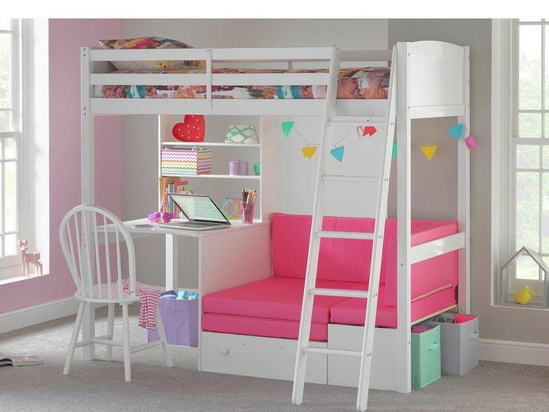 Wondrous Bunk Bed High Sleeper With Sofa Bed And Desk In Shanklin Gamerscity Chair Design For Home Gamerscityorg