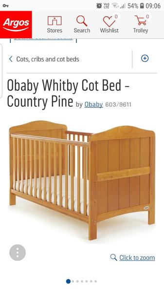 argos cot bed cowes wightbay. Black Bedroom Furniture Sets. Home Design Ideas
