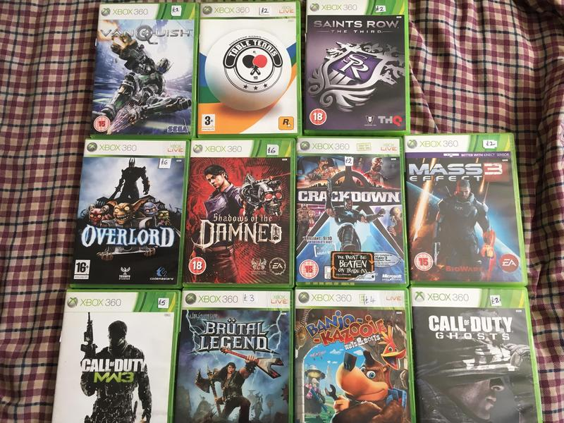 Various ps3 / wii / Ps2 / Xbox 360 Games - Sandown | Wightbay