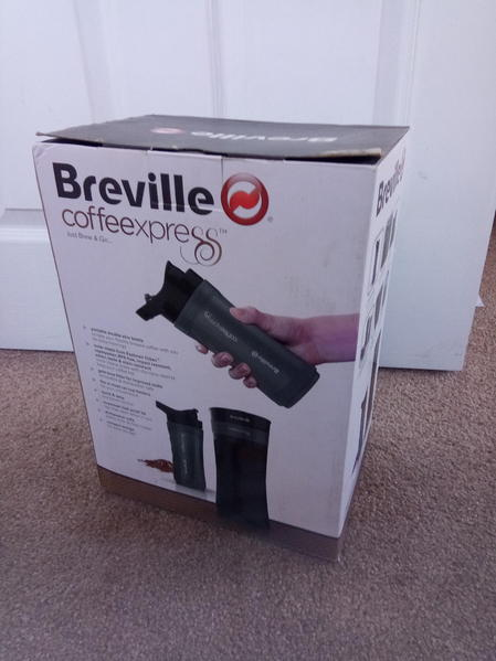 Breville Coffee Express Travel Cup Coffee Maker New