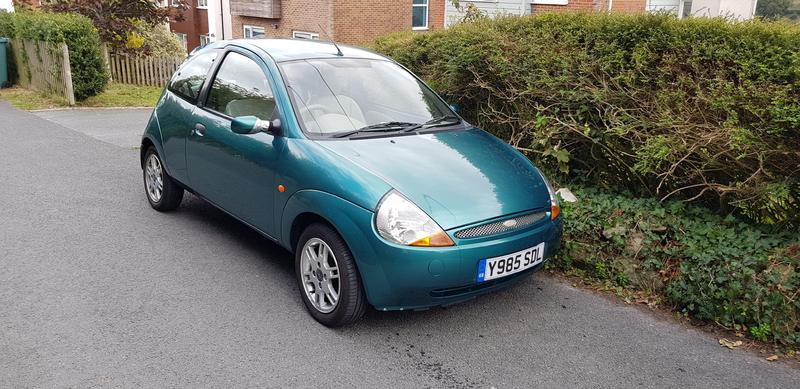 ford ka 2001 in newport isle of wight wightbay. Black Bedroom Furniture Sets. Home Design Ideas