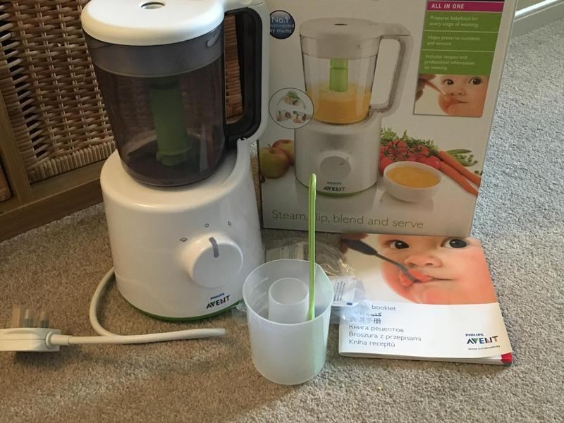 Philips Avent Baby Food Steamer And Blender East Cowes