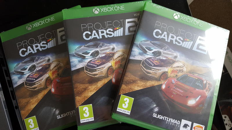 xbox one project cars 2 brand new newport isle of wight. Black Bedroom Furniture Sets. Home Design Ideas