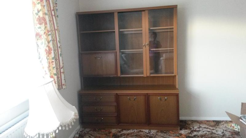 Wall Unit, Display Cabinet. In Newport Isle Of Wight