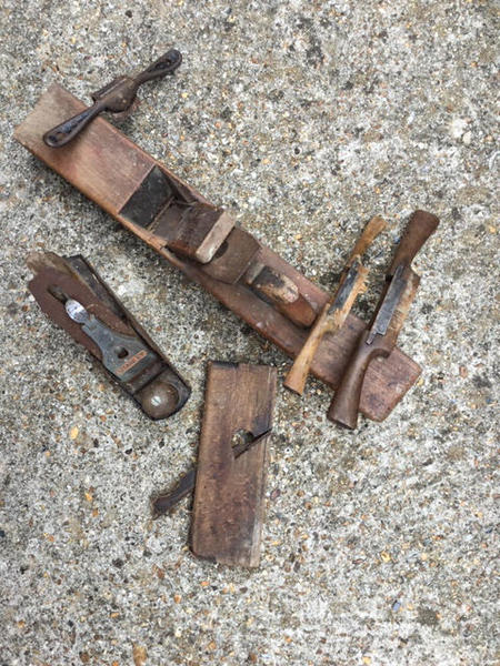 Vintage Woodworking Planes Cowes Wightbay