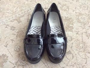 55ff0602f26c CLARKS CUSHION SOFT WIDE FIT LOAFERS. GOOD CONDITION. UK 4 1 2.