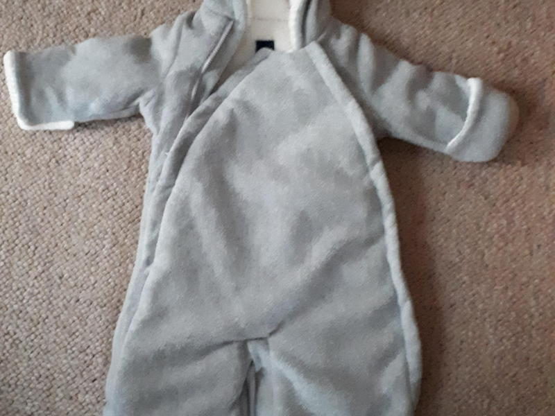 8e1bb6cfb 0-3 months pram suit from baby Gap - Newport Isle of Wight