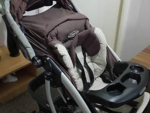 Graco Travel System With Cosey Toes And Rain Cover