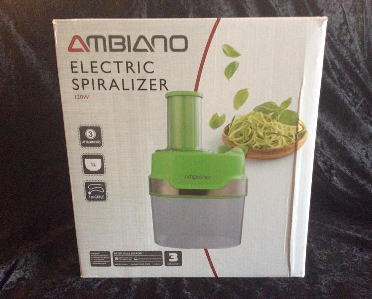 Ambiano Electric Spiralizer Green 120 Watts - East Cowes