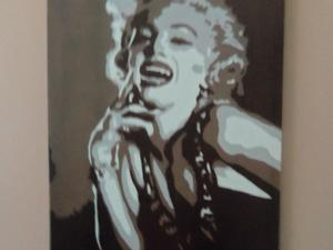 e6991491f02b Large Marilyn Monroe Picture 3ft x 2ft in Andy Warhol Design. in Ryde