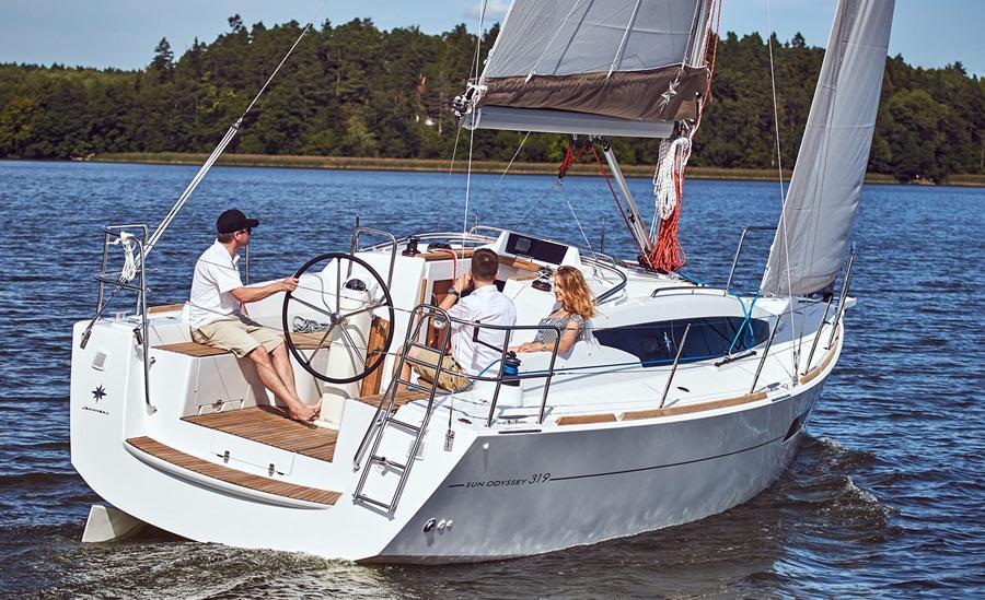 Jeanneau Sun Odyssey 319 With Lift Keel Option In Ryde Wightbay