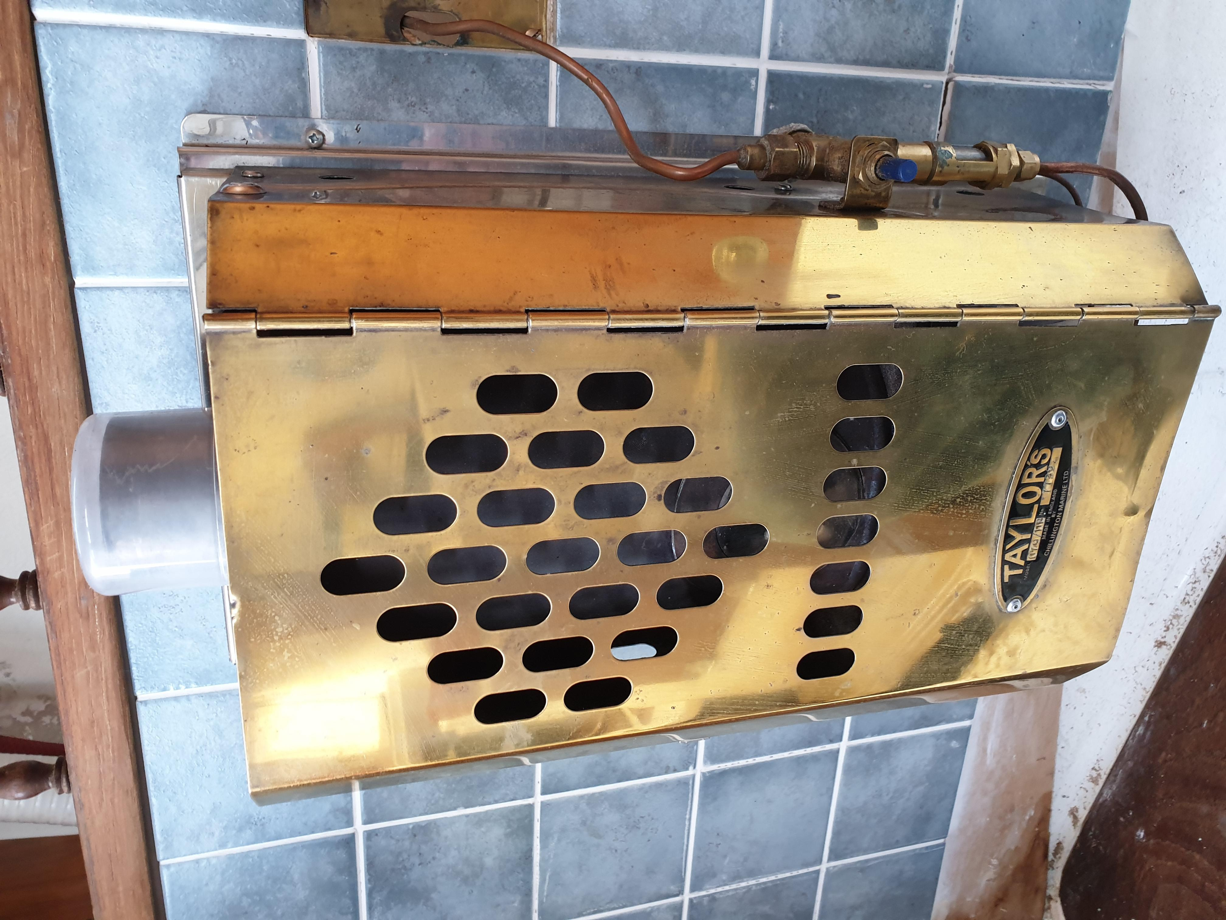 Blakes And Taylors 079d Diesel Cabin Heater In Ryde
