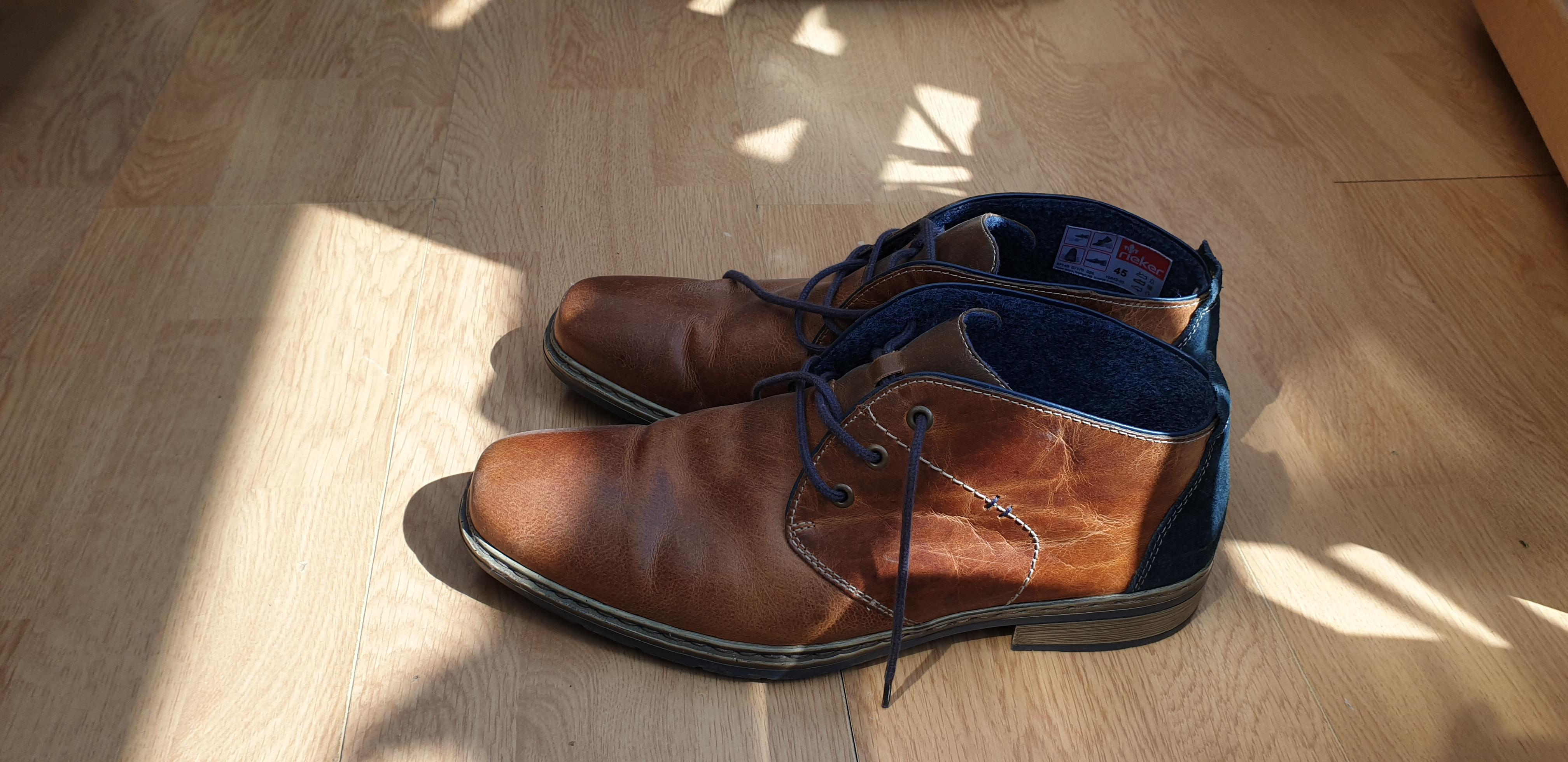 0beae1f53df UPDATED: Real Leather - Reiker Mens Shoes - Brown - Cowes - Expired ...