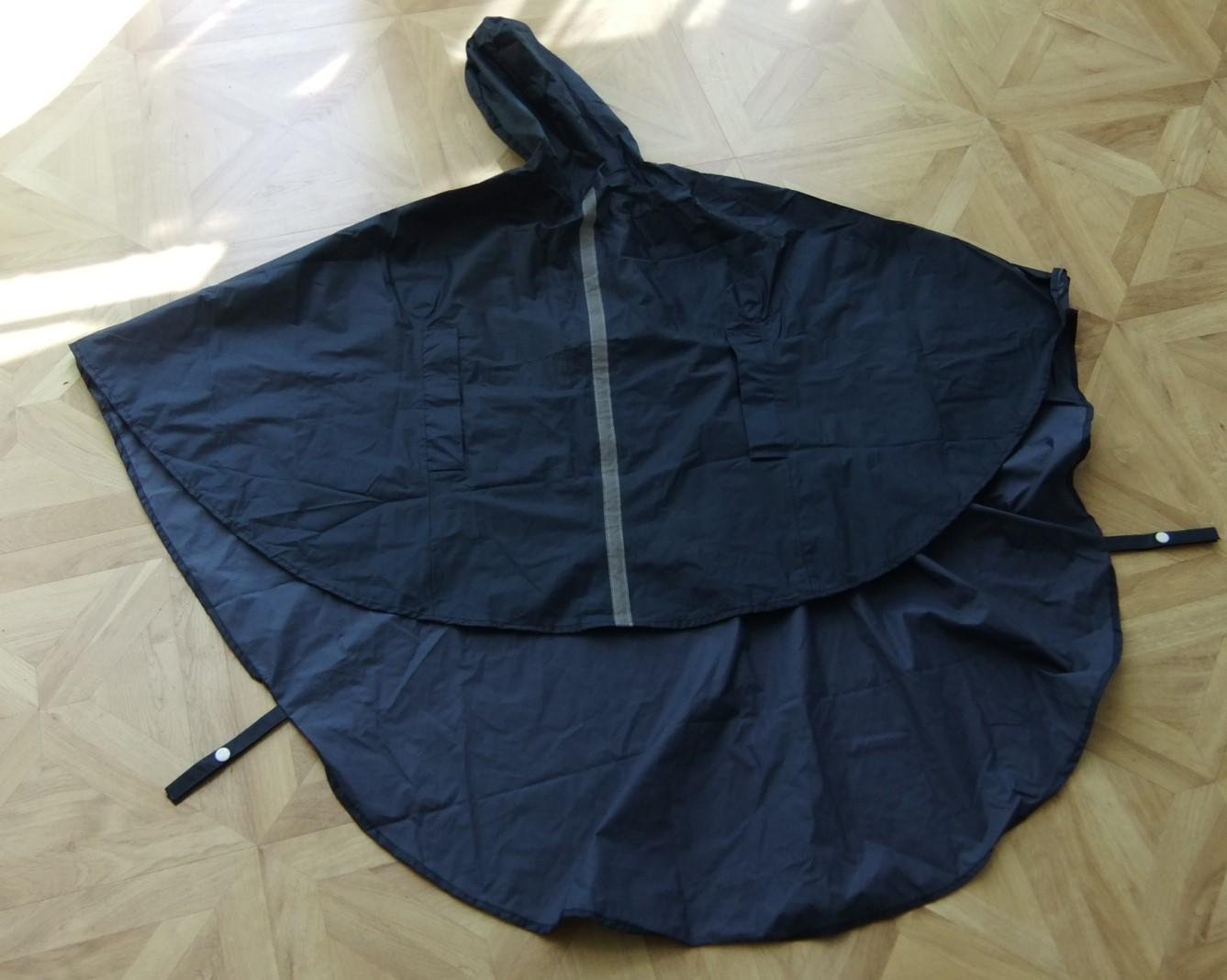 Stay Dry - Waterproof Wheelchair Poncho with Hood