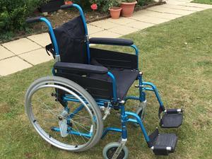 Aluminium Manual Wheelchair - Sandown | Wightbay