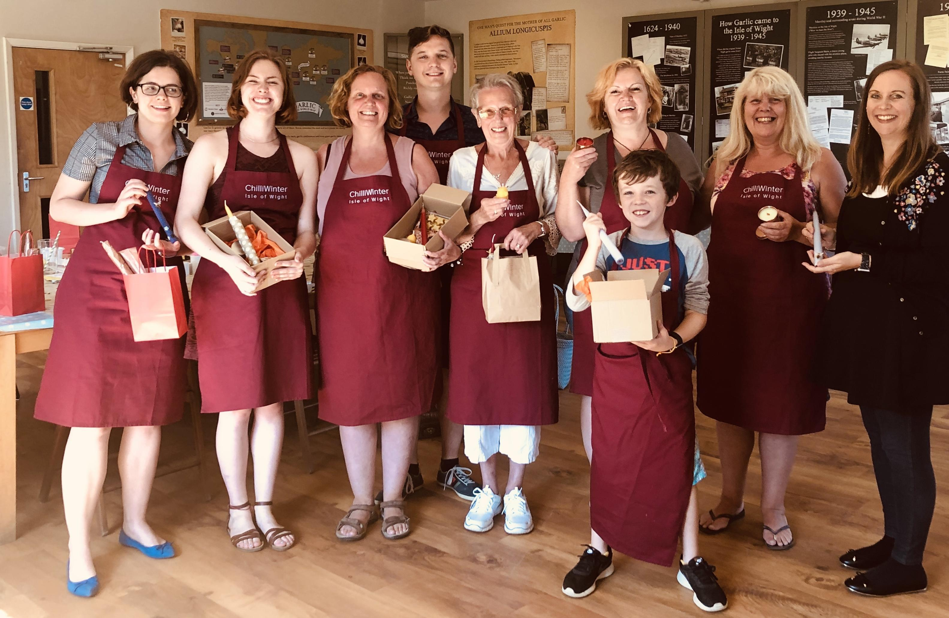 Candle Making Experience Workshop in Isle Of Wight | Wightbay