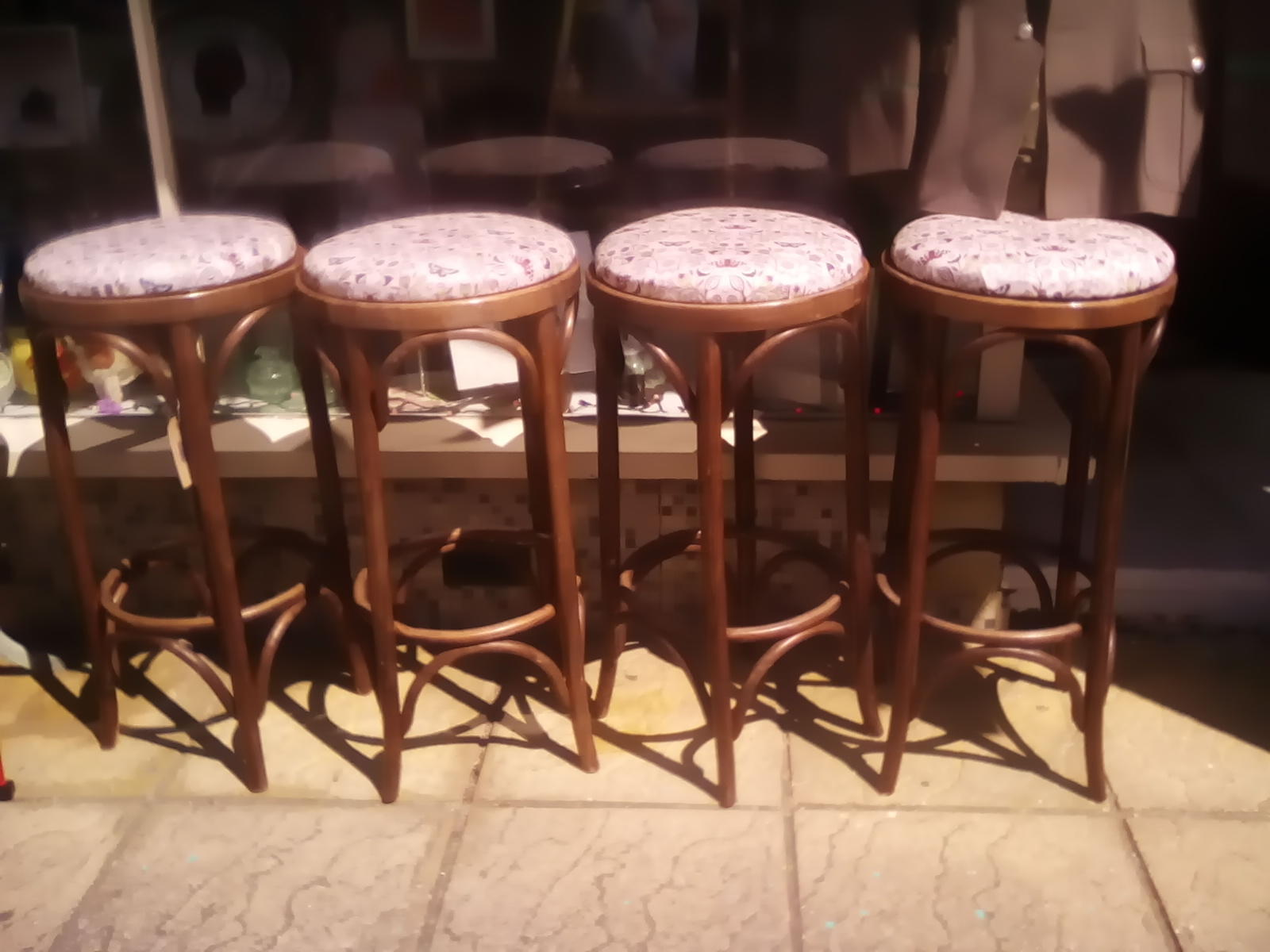 Fantastic Vintage Bentwood Bar Stools X4 East Cowes Expired Wightbay Short Links Chair Design For Home Short Linksinfo
