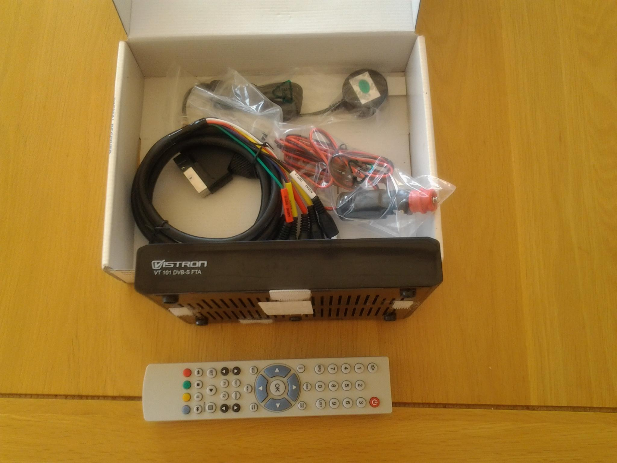 Wiring Freeview Box