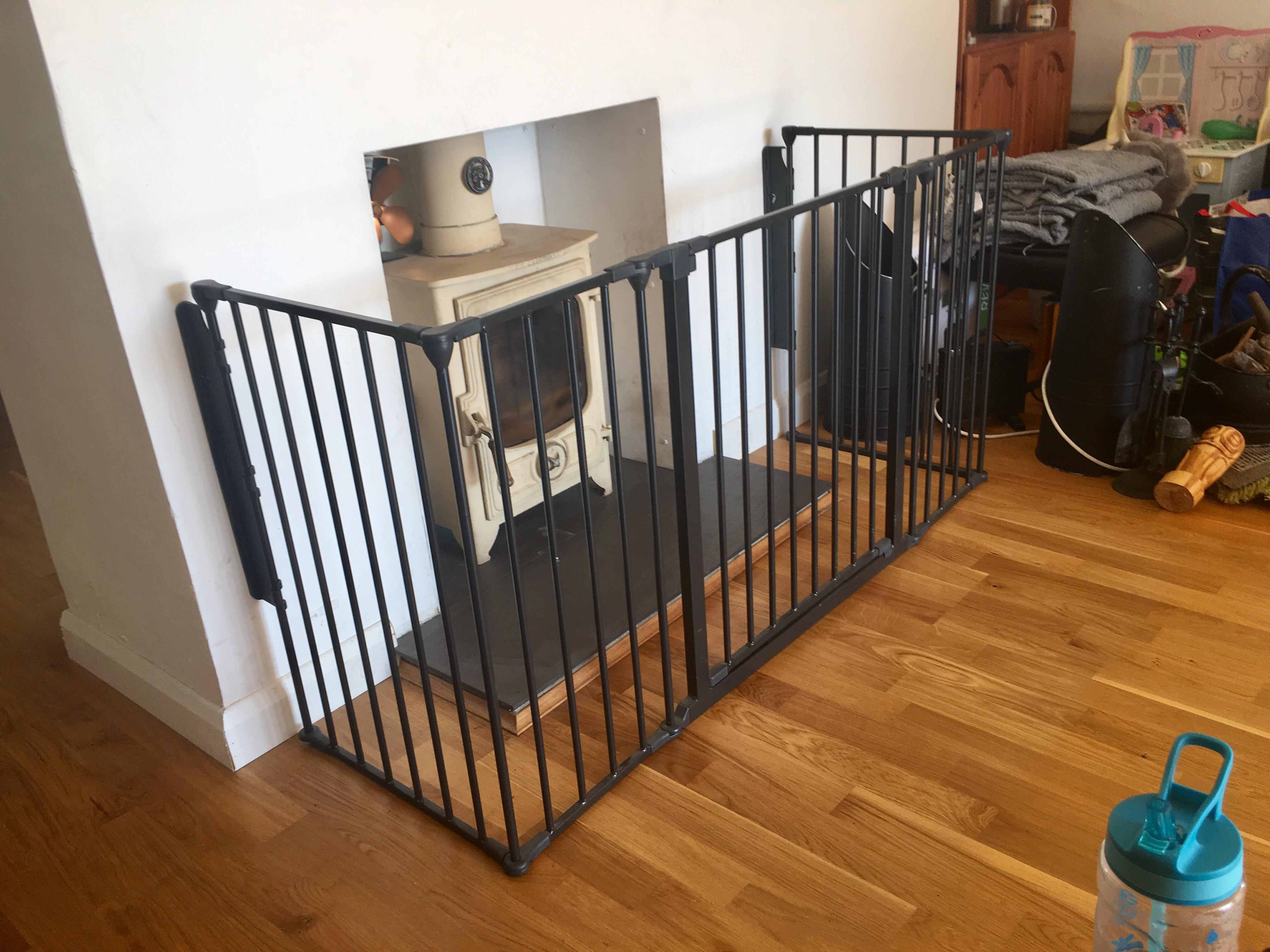 Room Dividers Safetots Flex Wall Mounting Kit Black For Safetots Flex