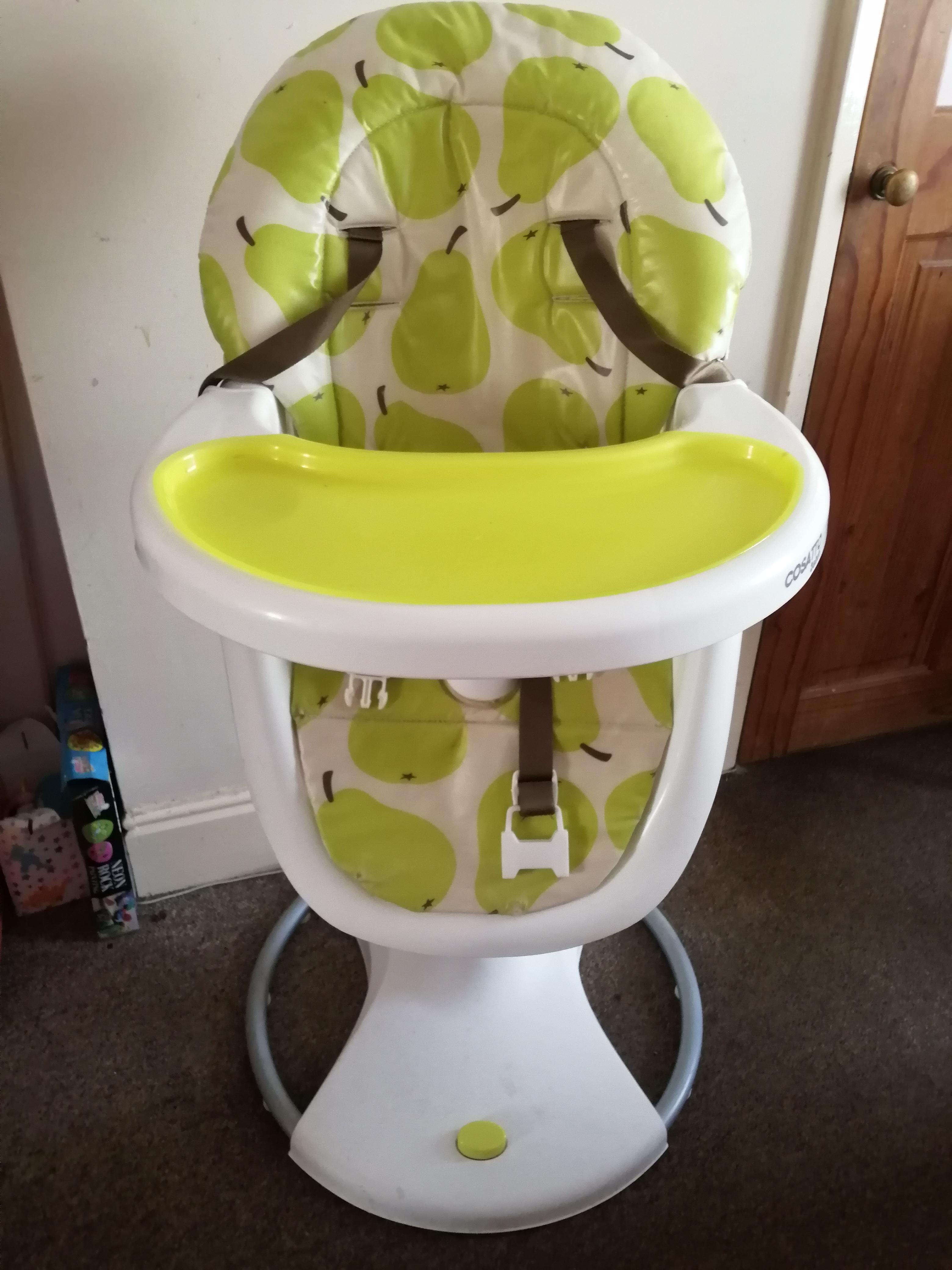 Amazing Cosatto 3Sixti Highchair Pear Design Newport Isle Of Wight Creativecarmelina Interior Chair Design Creativecarmelinacom