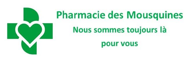Logo Pharmacie des Mousquines Hevimeds Sàrl