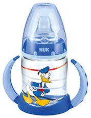 NUK Disney Donald First Choice Baby Trinklernflasche