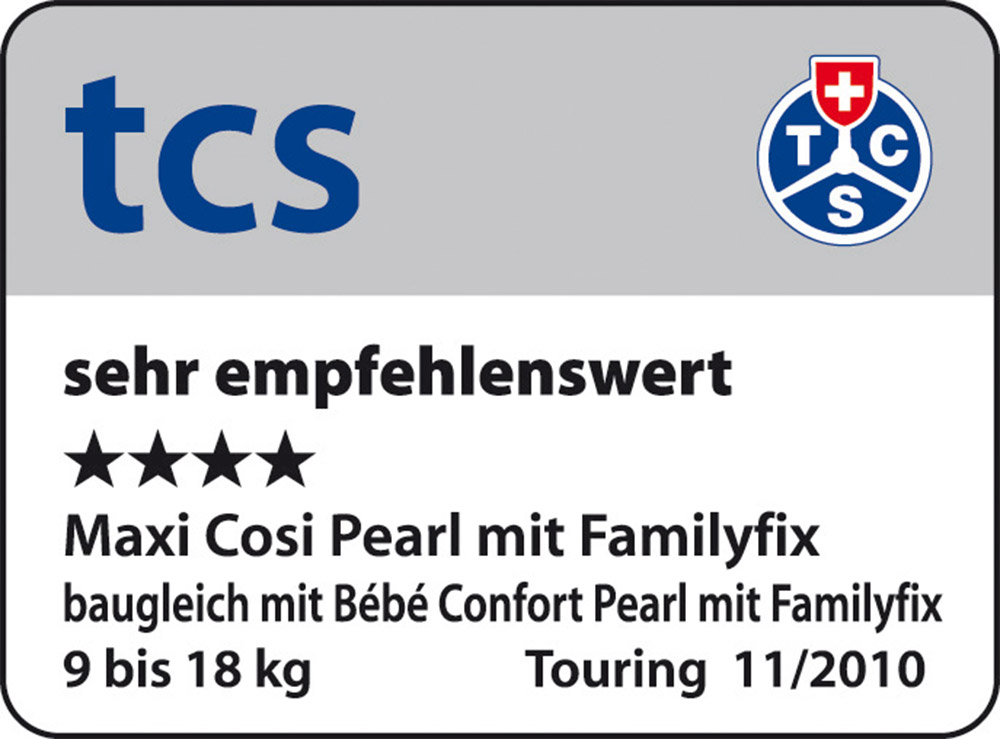 MAXI-COSI Pearl tcs sehr empfehlenswert