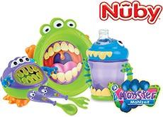 Nuby Ess- und Trinklernprogramm Monster