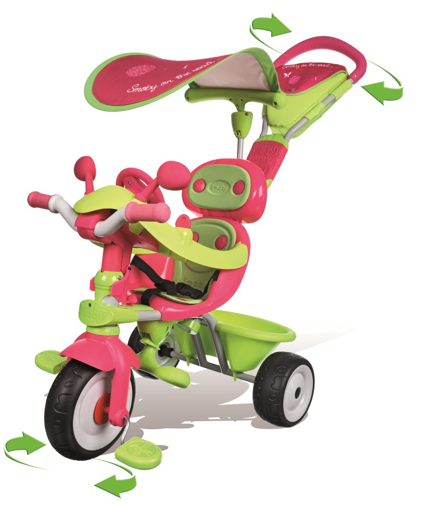 Dreirad Mit Schiebestange Smoby Dreirad Mit Schubstange
