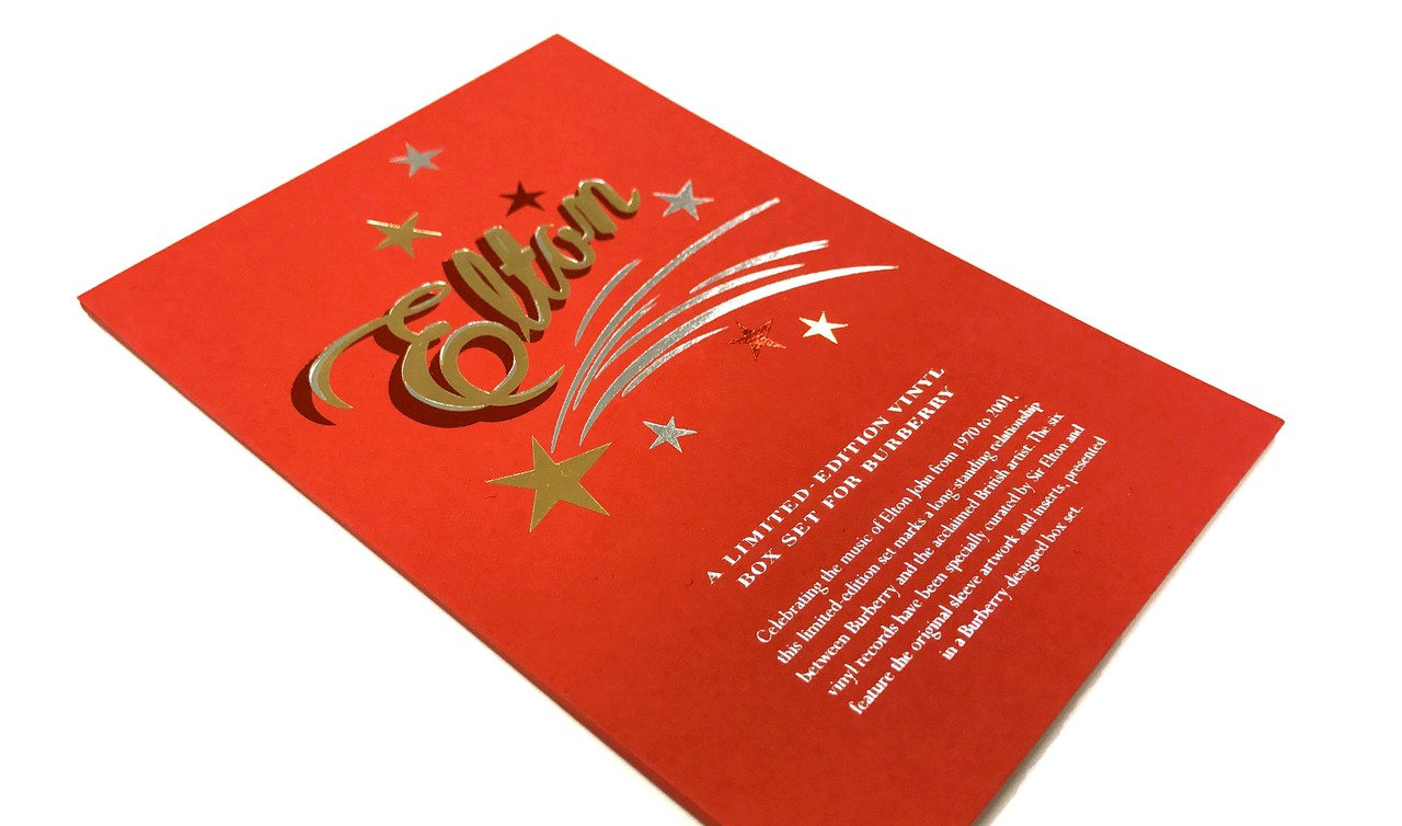 Foil Blocking: Adding a touch of class to your designs - Windmill ...