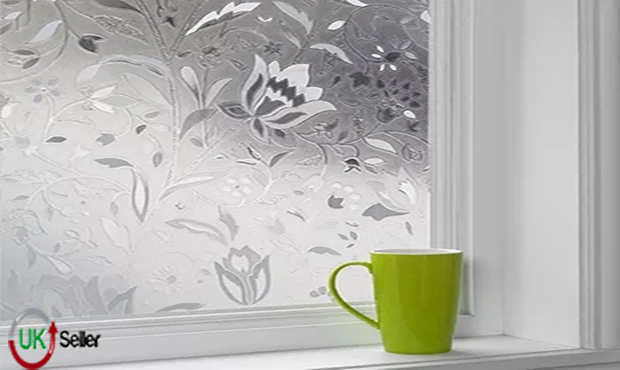 2m 3m 4m X 90cm Wide Frosted Window Film Glass Tulip