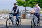 Tourisme - Nous avons testé l'un des 10 vélos à hydrogène du Village vélos de Vichy (Allier)