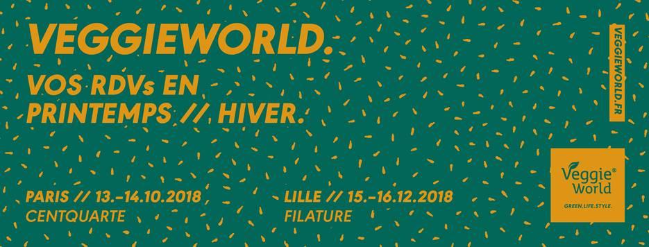 Veggie World Paris Automne 2018