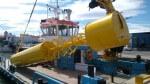 Une bouée en acier pour sauver les poissons des éoliennes offshore