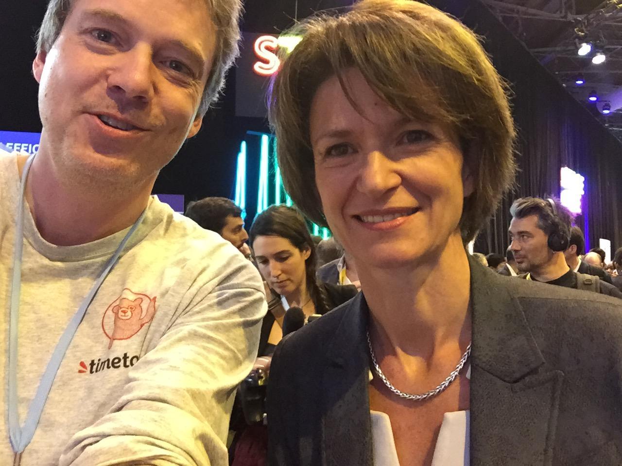 Rencontre avec Isabelle Kocher à Vivatech